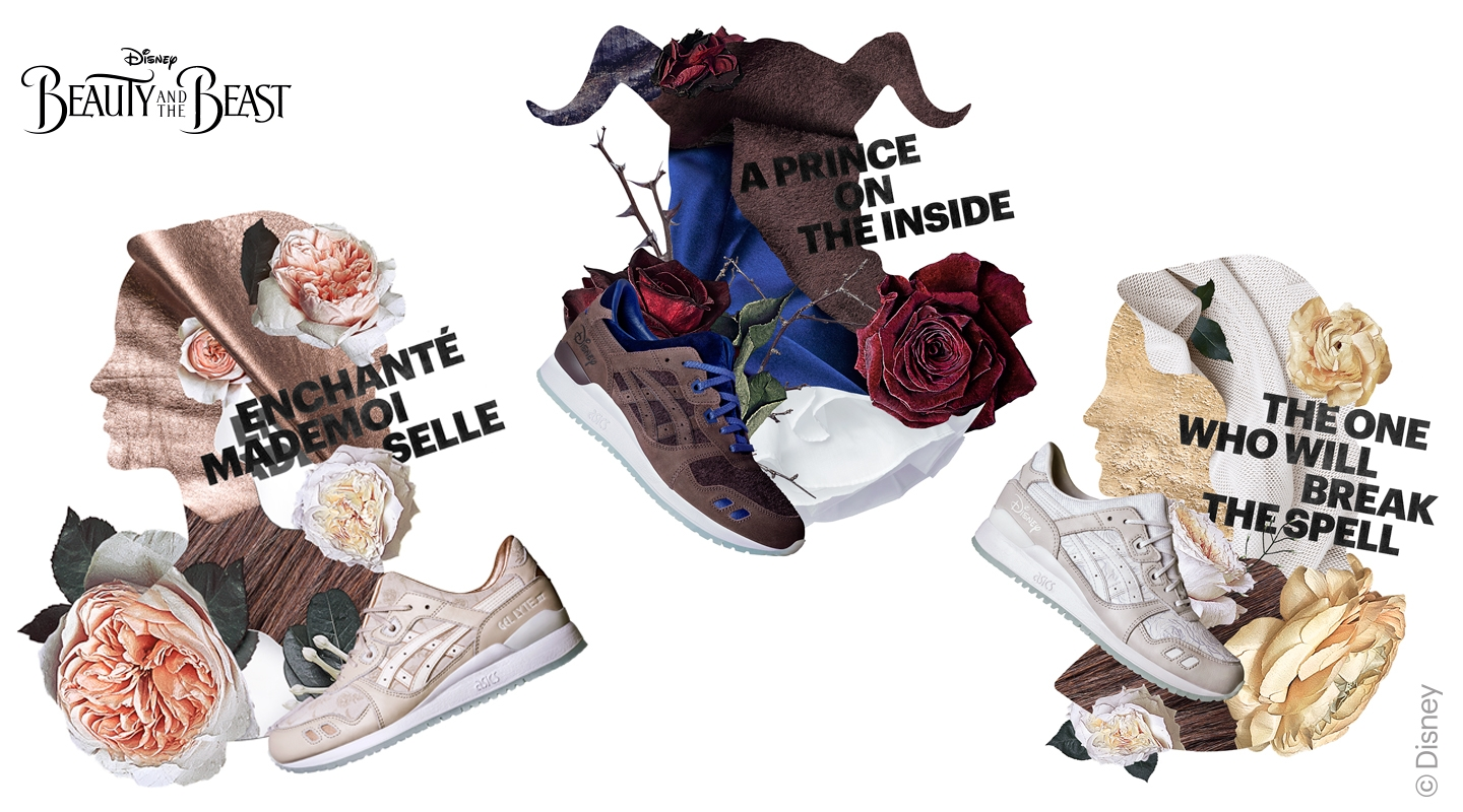 "Asics Gel Lyte III x Disney ""The Beauty and the Beast"""