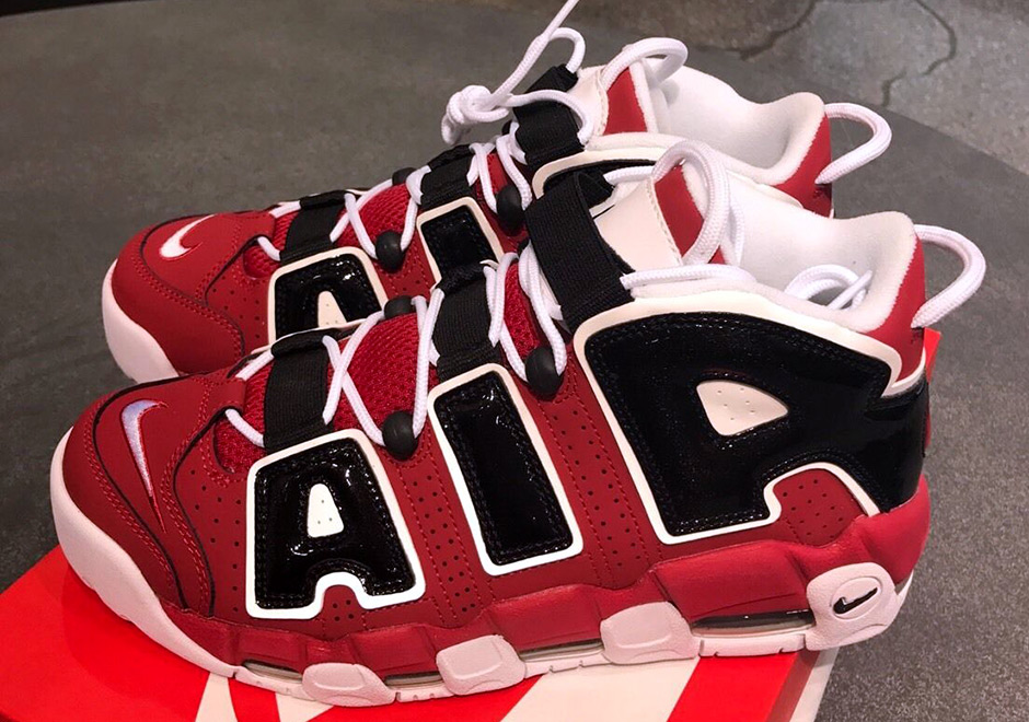 air more uptempo bianche e rosse