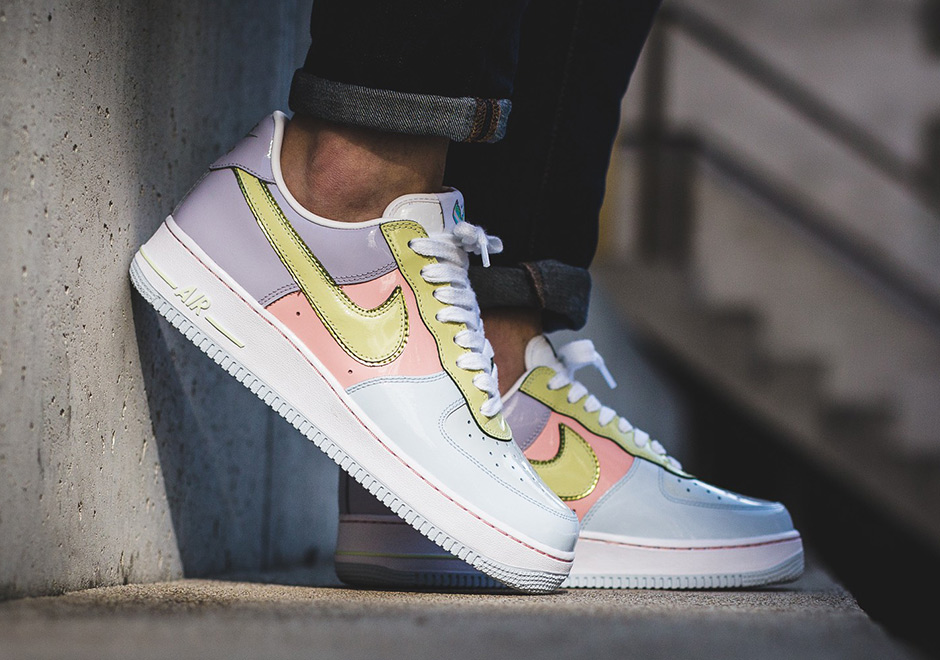 """Ecco le Nike Air Force 1 Low """"Easter Egg"""""""