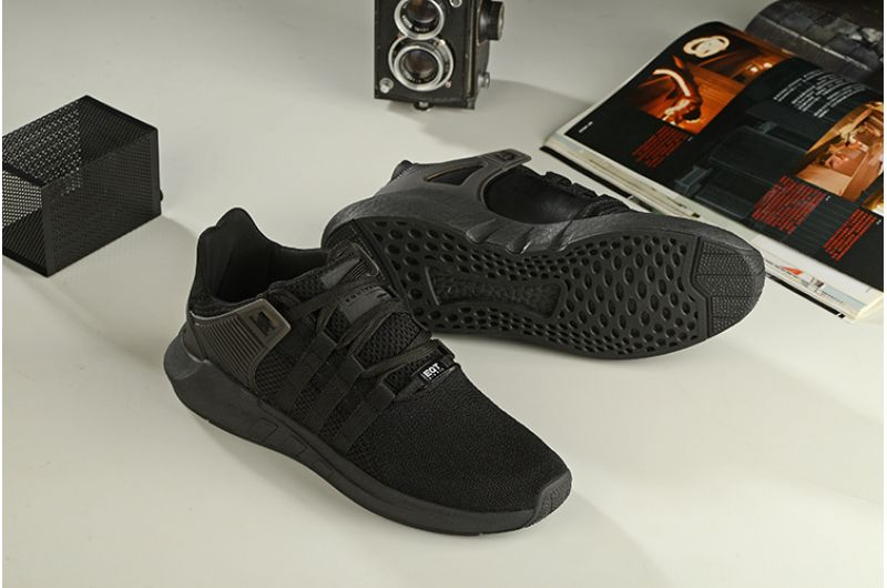 """adidas EQT Support 93/17 """"Triple Black"""": the dark side of the Boost"""