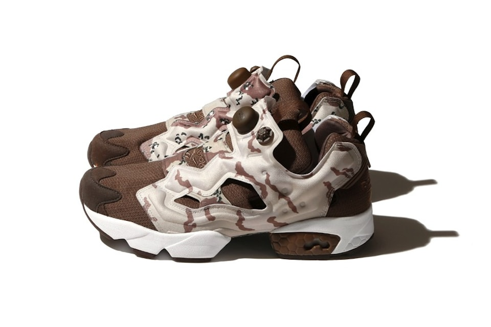 Beams e Reebok tornano a collaborare per la terza volta con una Capsule Collection tutta camouflage
