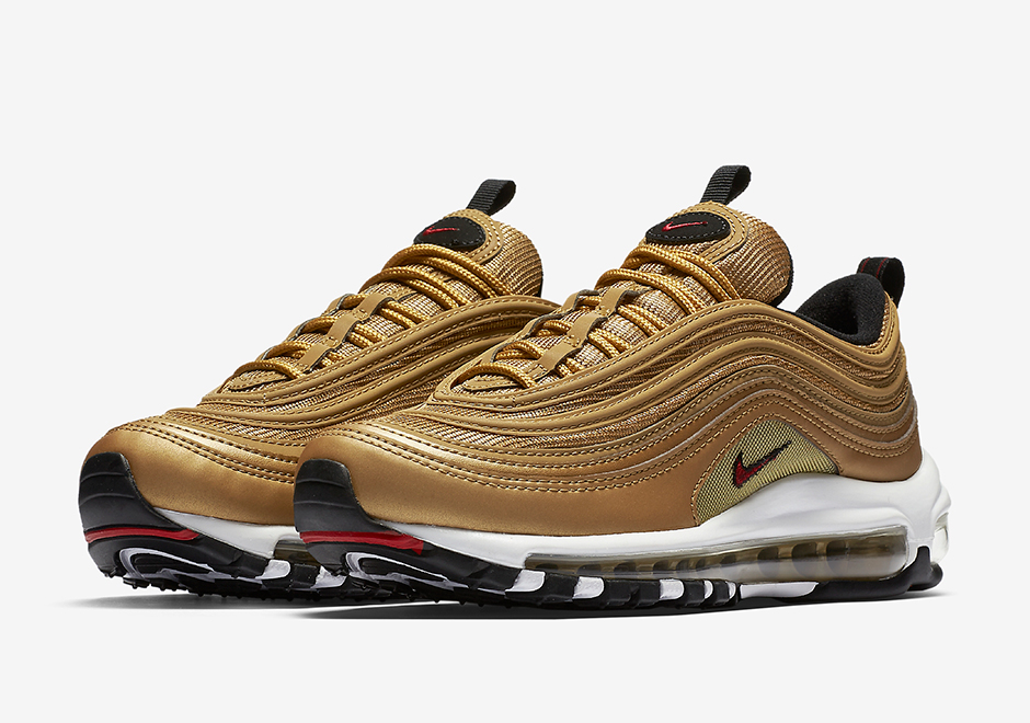 nike air max 97 gold uomo