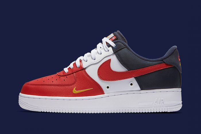"""Ecco le nuove Air Force 1 low """"Mini Swoosh"""" Pack"""