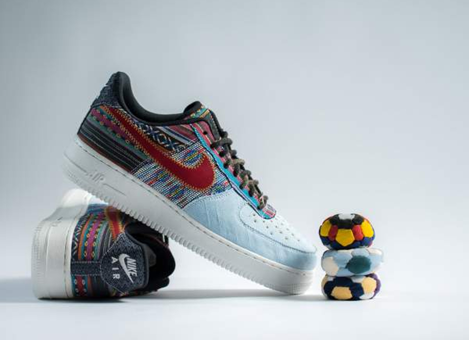 Anarchy in the AF1: ecco le Nike Air Force 1 '07 LV8 Afro-Punk