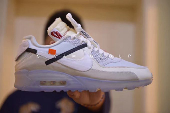 Off White x Nike Air Max 90 10X