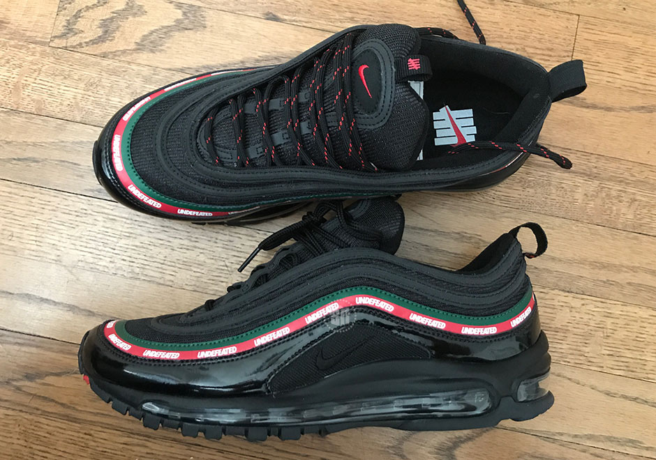 UNDEFEATED x Nike Air Max 97: mostrate altre due colorazioni