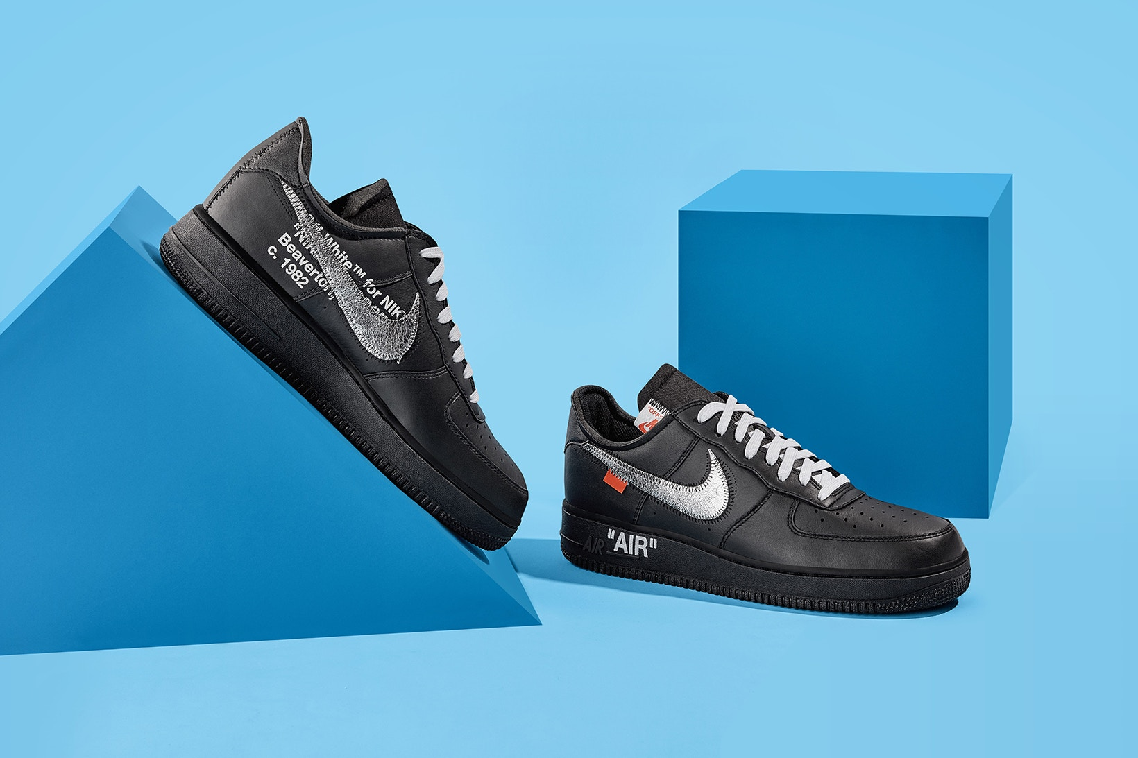 Foto ufficiali: Off White X Nike Air Force 1 MoMA Sneaker