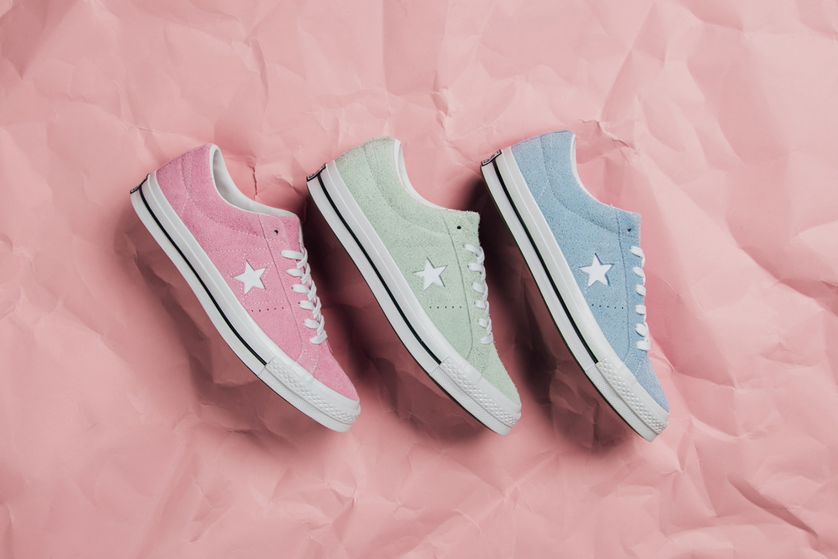 "Ecco il Converse One Star ""Candy Pack"""