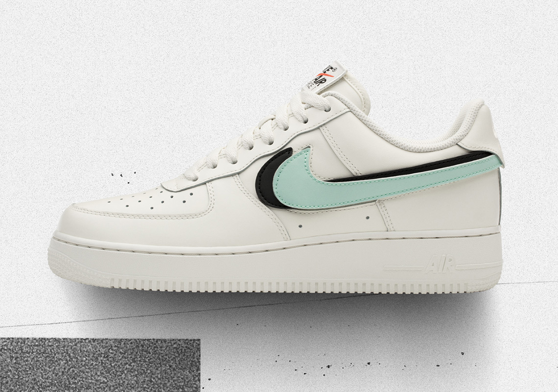 air force 1 bianche e verdi
