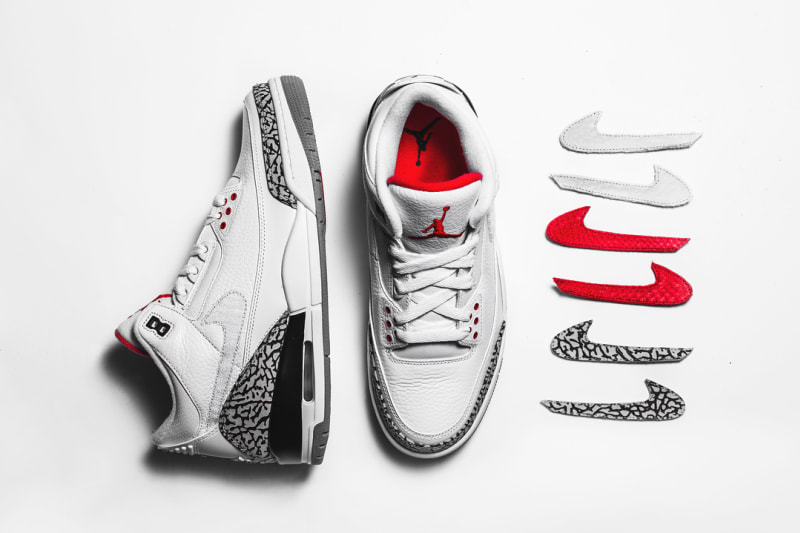 "The Shoe Surgeon customizza le Air Jordan III ""JTH"""