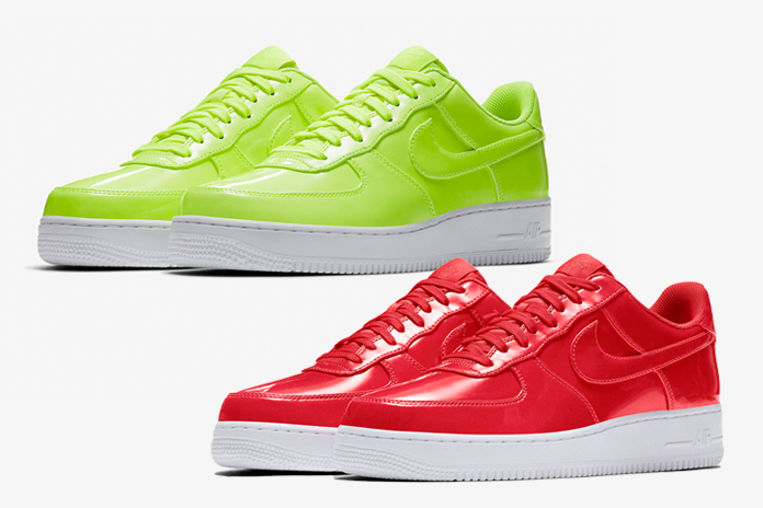 "Ecco le Air Force 1 Low ""Patent Leather Collection"""