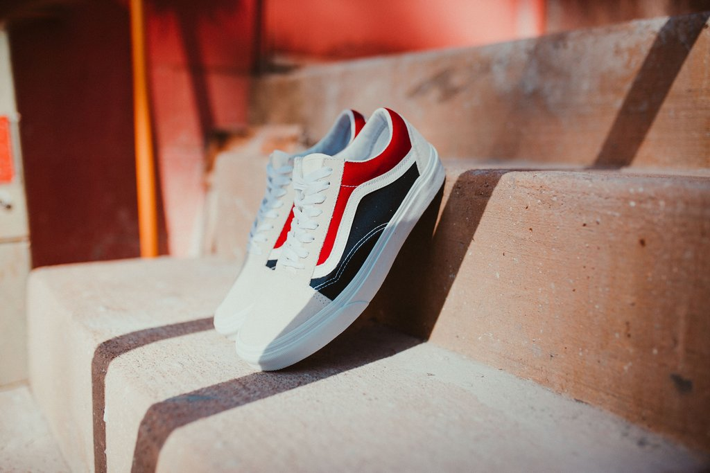 "Sono arrivate le Vans Old Skool ""Retro Block"""