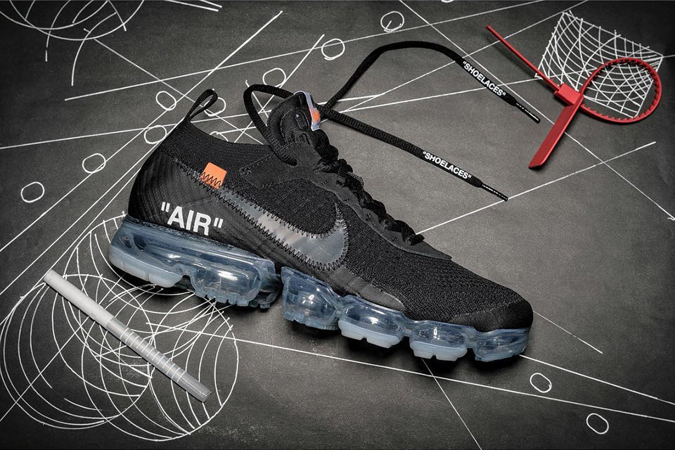 Nike x Off White Vapormax OG Black in 20131 Milan for