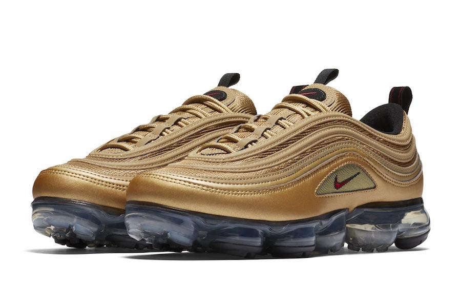 "Mostrate le Nike Air VaporMax 97 ""Metallic Gold"""