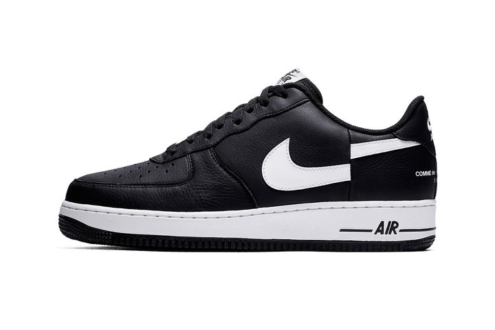 Le Supreme X Comme Des Garcons X Nike Air Force 1 Low