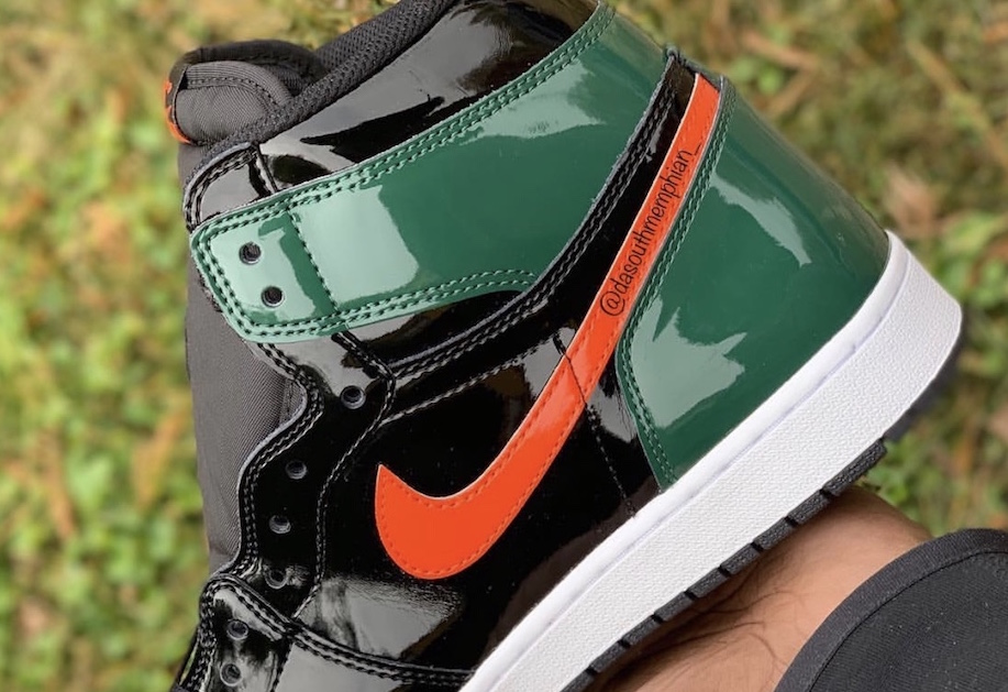 """Primo sguardo alle SoleFly x Air Jordan I """"Patent Leather"""""""