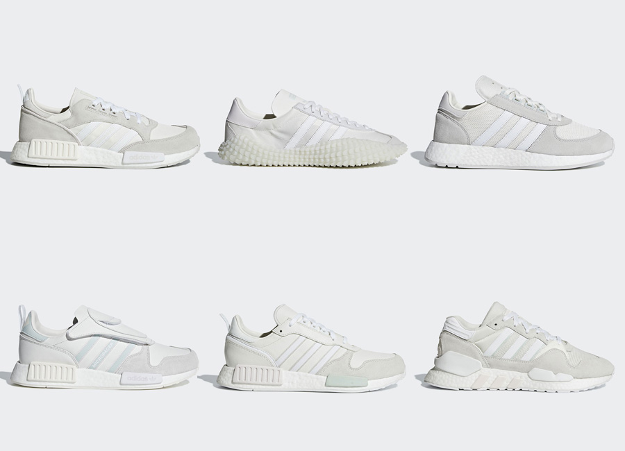 adidas rilascerà il Never Made Pack in versione Triple White