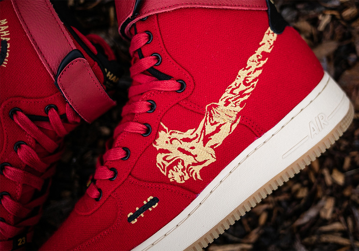 Nike Maharishi By You Air Force 1 High Air Force 1 Utility