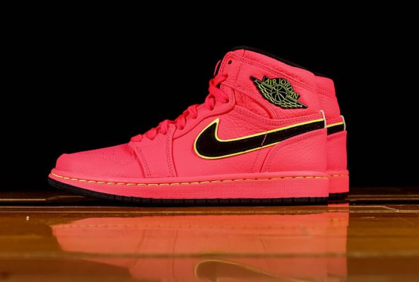 Air Jordan I High Premium Hot Punch 1