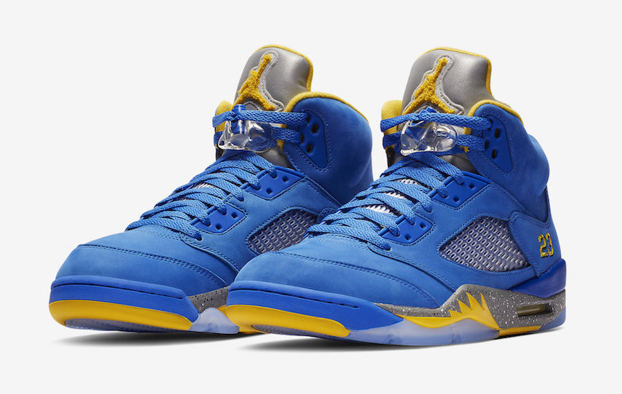 "La Air Jordan V ""Laney"" ritorna in un nuovo look"
