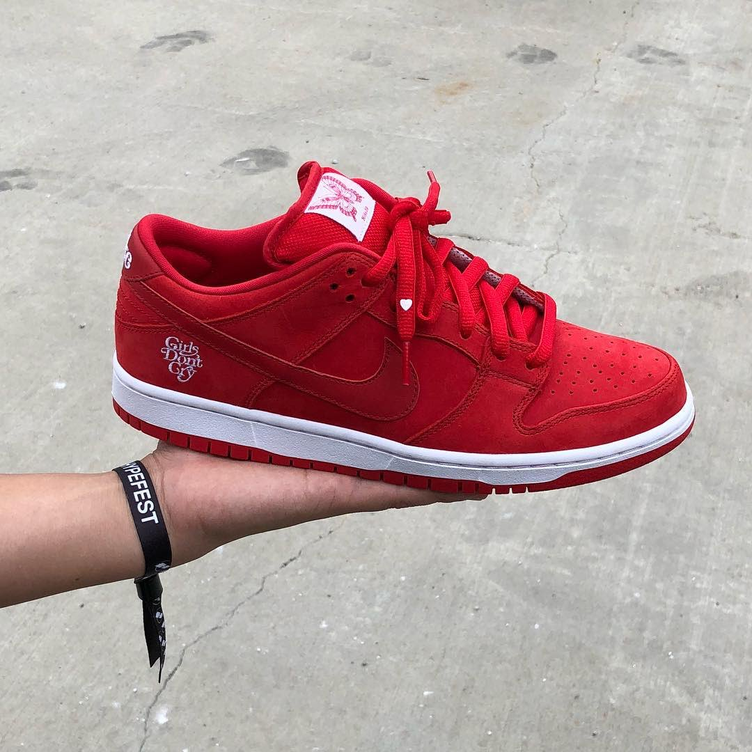 Girls Dont Cry x Nike SB Dunk Low 10