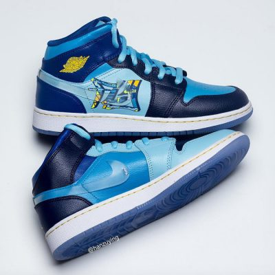 Air Jordan 1 Mid Fly 5