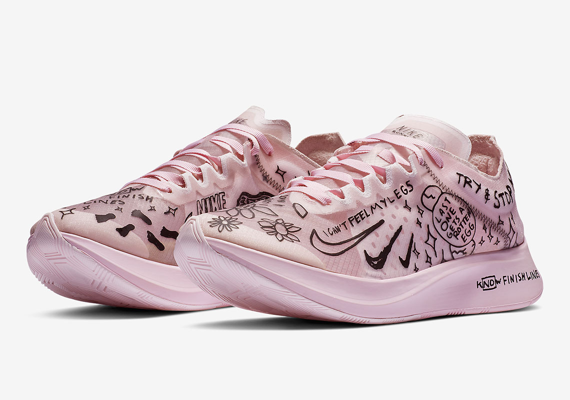 Disponibili sul sito Nike le Zoom Fly Sp fast Nathan Bell