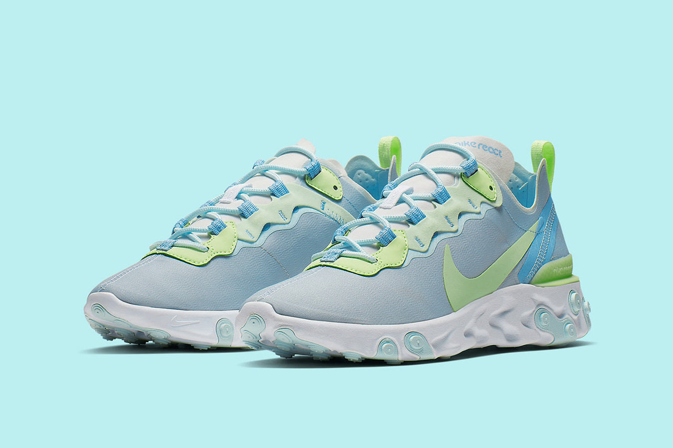 "Primo sguardo alle Nike React Element 55 ""Frosted Spruce"""