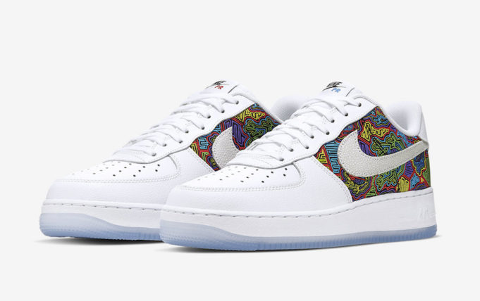air force 1 con scritte