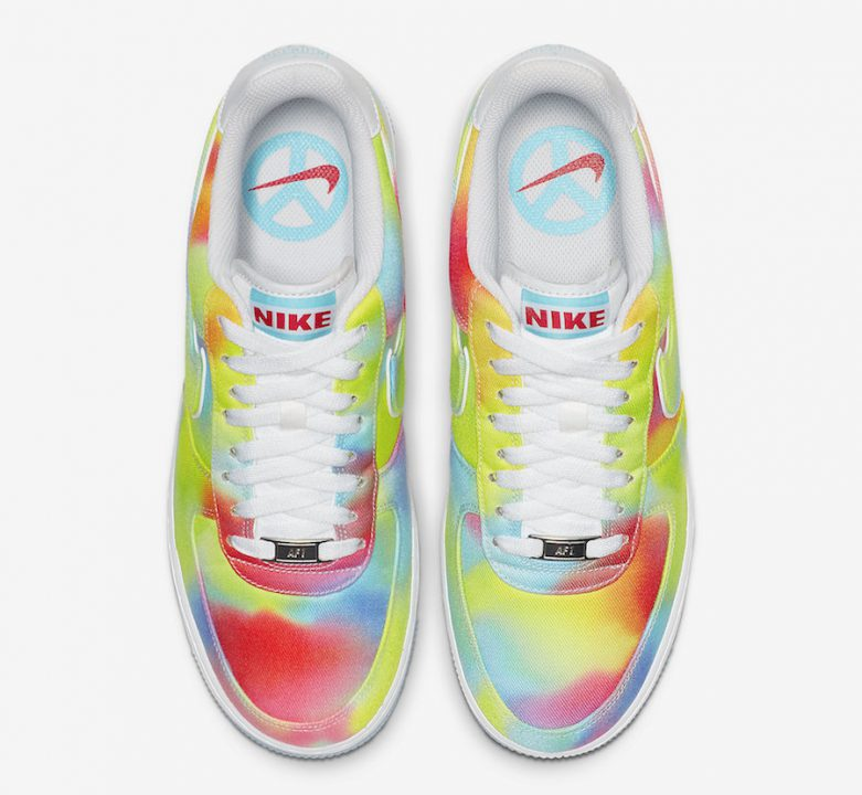 Now Available: Nike Air Force 1 Low Tie Dye
