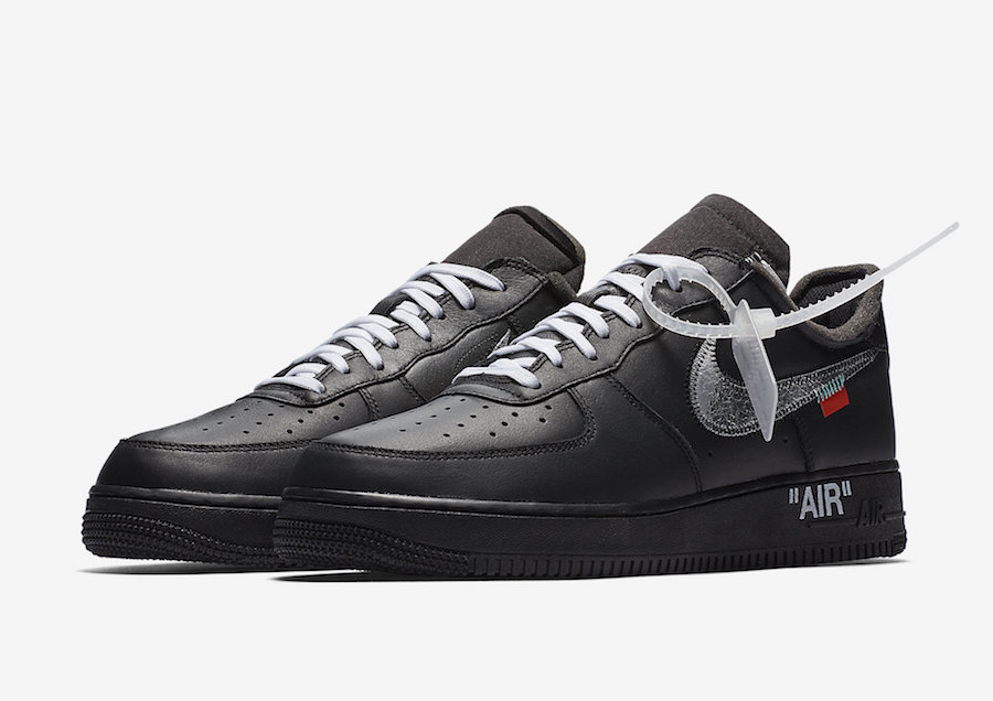 Release in vista per le Off White x Nike Air Force 1 Moma