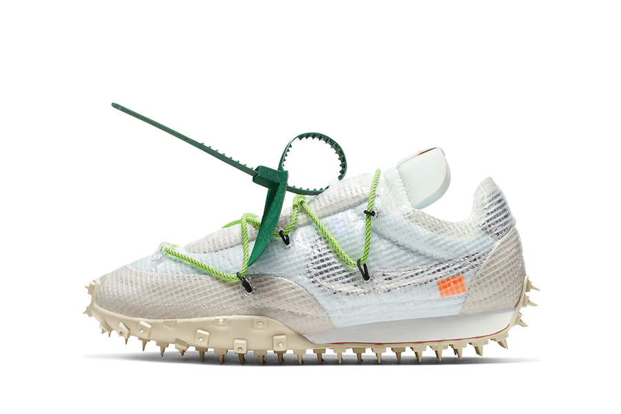 Off White x Nike Waffle Racer SP White – Outpump