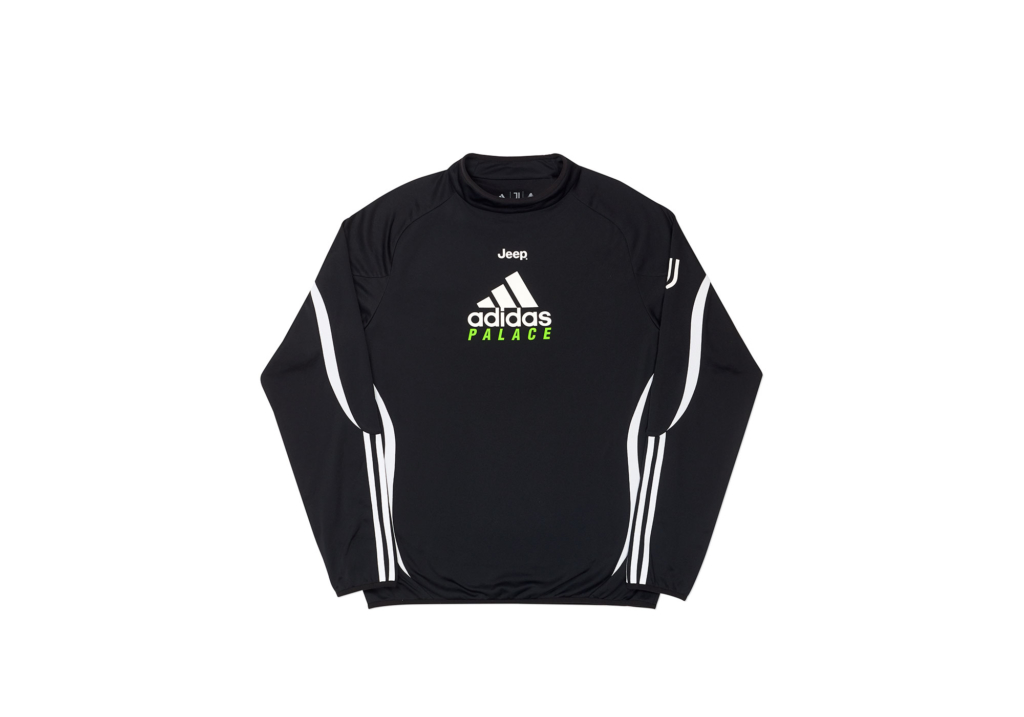 Palace Adidas Palace Juventus Warm Up Top Black