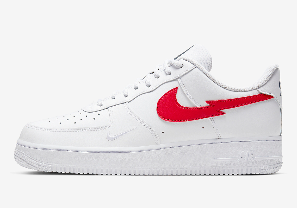 nike air force 1 rossa